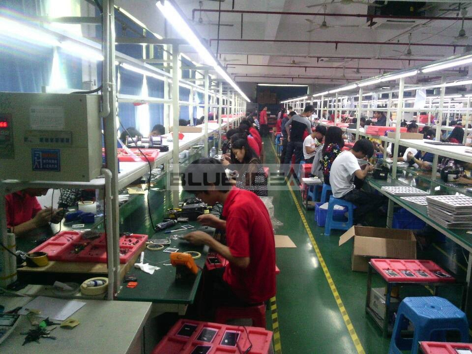 Smart Watch Phone assembly work shop